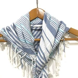 Accessories - Blue and White Scarf